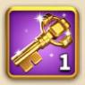 ライキン、金の鍵×1