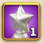 ライキン、新しい星の勲章×1