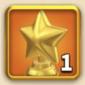 ライキン、輝ける星の勲章×1