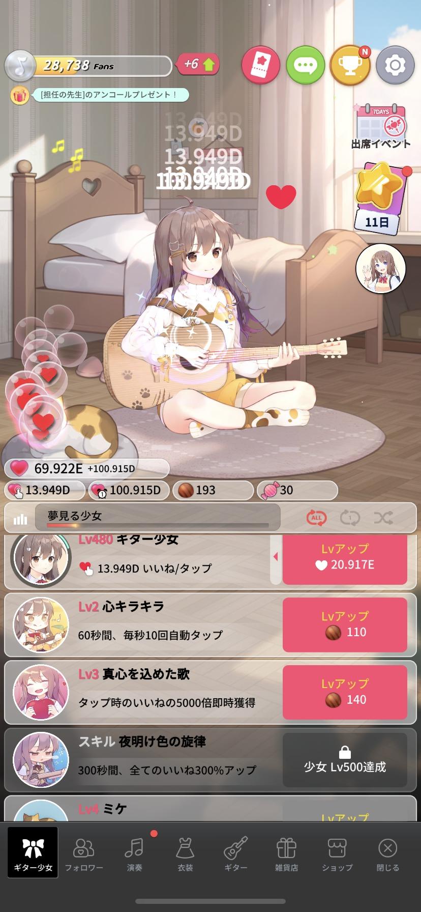 ギター少女、レビュー
