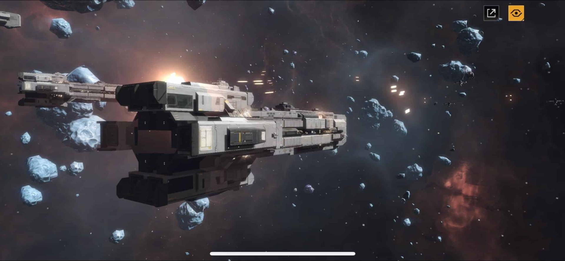インフィニットラグランジュ、宇宙空間での大規模戦争
