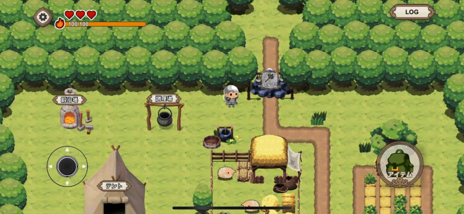 勇者の農園サバイバルの序盤攻略